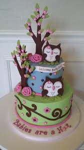 Owl Baby Shower Cakes For A Girl Archives  Baby Shower DIYOwl Baby Shower Cakes For A Girl