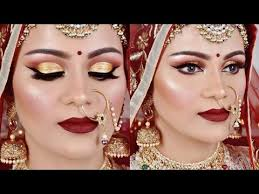 full hd royal indian bridal makeup