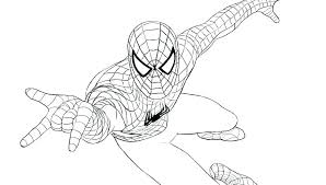 The Amazing Spiderman Printable Coloring Pages Color To Print Sheets