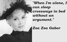 Zsa Zsa Gabor Quotes Simple Zsa Zsa Gabor Famous Quotes 48 Collection Of Inspiring Quotes