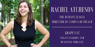 Interview with Rachel Atcheson from The Humane League | Grape Cat
