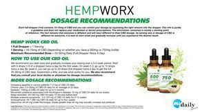 Hempworx Dosage Chart Hempworx Pure Cbd Oils Worlds Purest Cbd Oil Dosage
