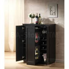 cool modern wine cabinet on modesto brown modern dry bar and wine