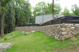 new england fieldstone retaining walls