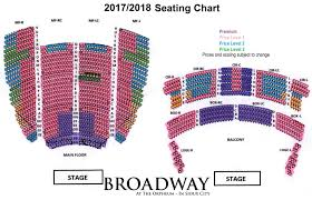 Broadway Seating Chart Orpheum Live