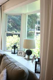 Living Room Curtains 25 Best Ideas About Bay Window Curtains On Pinterest Bay Window