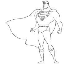 Small Picture Superman Coloring Pages title color me Pinterest Craft