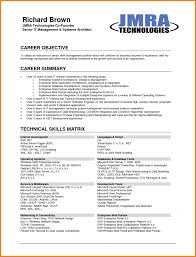 9 Career Objectives Resume Example Cashier Resumes My First