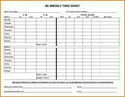 Time Sheets Template Excel Guitafora
