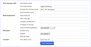 Search For Resumes Enchanting How To Use Indeed Resume Search To Find The Best Candidates Fast