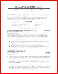 Social Work Resume Sample Unique Resume Ex Example Of Social Worker Resume Social Worker Resume