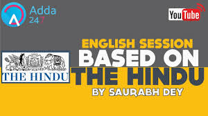 The Hindu Editorial N Vocab Show For A Level Playing Field Youtube