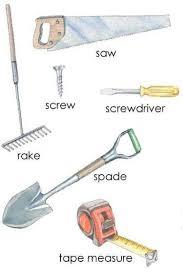 hand tools names list of tools