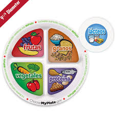 food plate in spanish. Plain Food 9 14 To Food Plate In Spanish