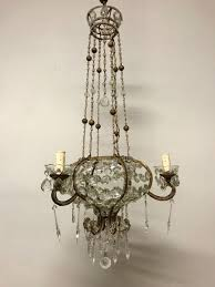 crystal chandelier by glow lighting french