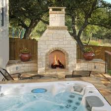 sit back and relax on a patio or in a hot tub by this