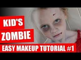 zombie makeup for kids 7 ghastly tips looklikeazombie