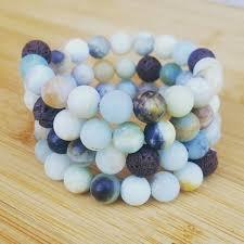 LAVA rock bar necklace, Essential oil diffuser jewelry, Essential ...