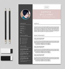 Professional Resume Template Cv Design Creative Resume