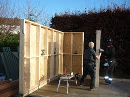 timber garden office. Garden Office Build In Progress By The Escape (5).jpg Timber D