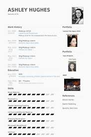 resume exle vfx resume sles vfx resume sles makeup artist resume exle makeup artist
