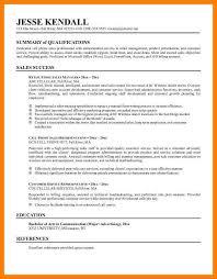 8 Resume Career Summary Example Letmenatalya