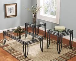 Table Sets For Living Room Glass Coffee Table Set Of 3 Coffee Table 3 Piece End Sets Sofa