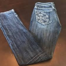 The Buckle Jeans Size Chart Miss Me Straight Legs From Buckle