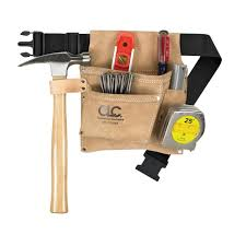tool holder belt. clc® 3 pocket nail \u0026 tool bag with polyweb belt (ipk489x) - pouches holders ace hardware holder h