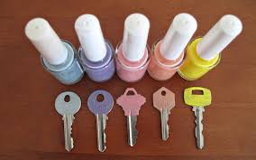It happens often to try to open the door with the wrong key and get angry.  In this way, Sara from JewelPie posted a fun, easy and pretty solution:  give a ...