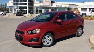 2015 Chevrolet Sonic 4dr Sdn Auto LT - YouTube