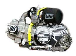 pit bike engine upower 110 2s 16hp provided with pe28 uni filter