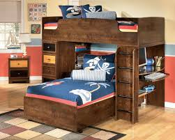 Image of: Modern Queen Size Loft Bed Frame
