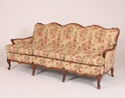 french provincial sofa. Modren Provincial Classic French Provincial Sofa With Six Whorl Foot Legs U2013 Ripley Auctions On Sofa