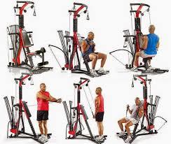 workout routine on bowflex
