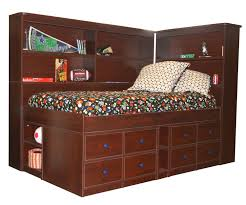 Bookcase Bedroom Furniture Berg 22 950 Junior Captains Bed With Bookcase Berg Furniture