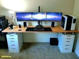 home office computer setup. Unique Desks For Home Office Desk Setup Ideas Accessories Nice Computer