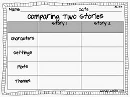 best compare and contrast images teaching ideas one happy teacher comparing two stories graphic organizer