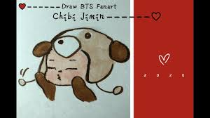 Touch device users, explore by. Drawing Quick Easy Bts Fanart Chibi Jimin Youtube
