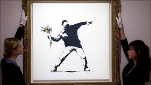 Marshals service (usms) which is holding the auction, approximately 4,040.54069820 bitcoins will be for sale. Sotheby S To Accept Bitcoin Ethereum For Banksy S Love Is In The Air Artwork Hindustan Times