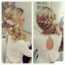 Coiffure Mariage Femme Mi Long Maquillage Mariage