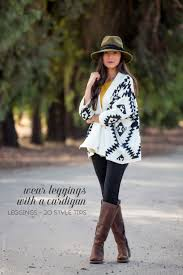 What To Wear With Patterned Leggings New Design