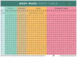 Weight Mass Chart Amazon Com Nutrition Education Store Bmi Poster Bmi Chart