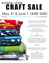 estate craft mark your calendars the homes i have made craft flyer 002