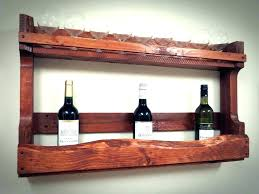 pallet wall wine rack. Wall Wine Rack Ideas For Shelf From Recycled . Pallet