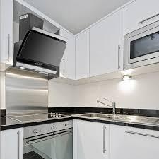 integrated kitchen extractor luxair cooker hoods
