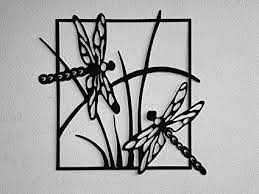 say it all on the wall dragonfly scene metal wall art on black metal wall art amazon with amazon say it all on the wall dragonfly scene metal wall art
