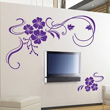 Small Picture Amazoncom Stylish Modern Flower Wall Stickers Vinyl Art Decals
