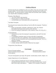 Good Objectives To Write On A Resume | Ophion.co