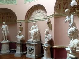 the statue gallery newby hall